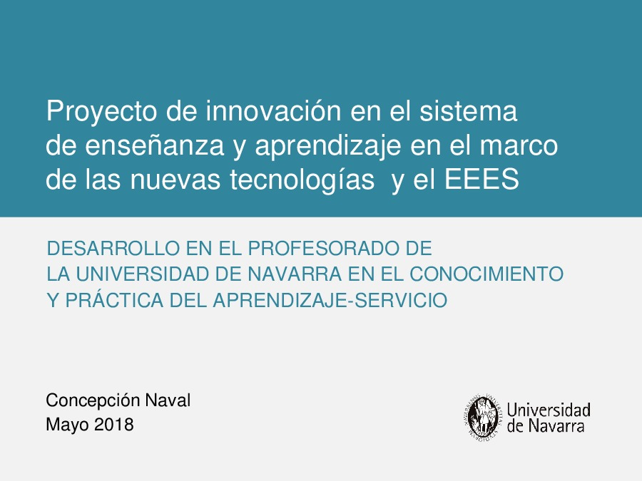 Presentación Concepción Naval Durán